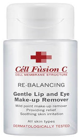 Gentle lip and eye makeup remover Image